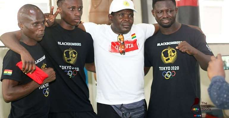 Tokyo 2020: Boxing Coach Asare praises Black Bombers' response to training