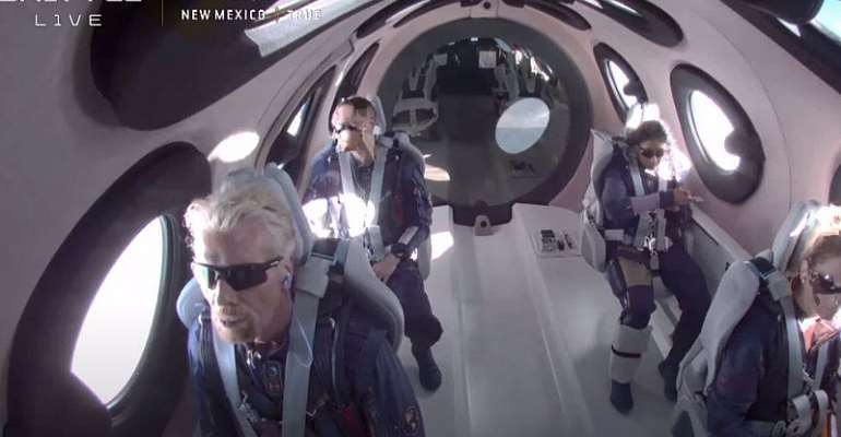 Branson Goes to Space