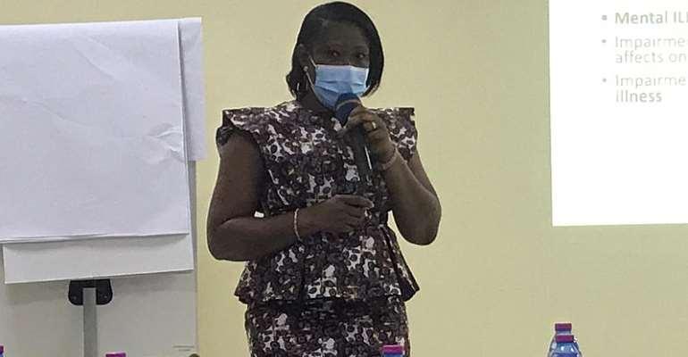 Deputy Director for Mental Health at the Ghana Health Service, Dr. Amma Ampomaa Boadu