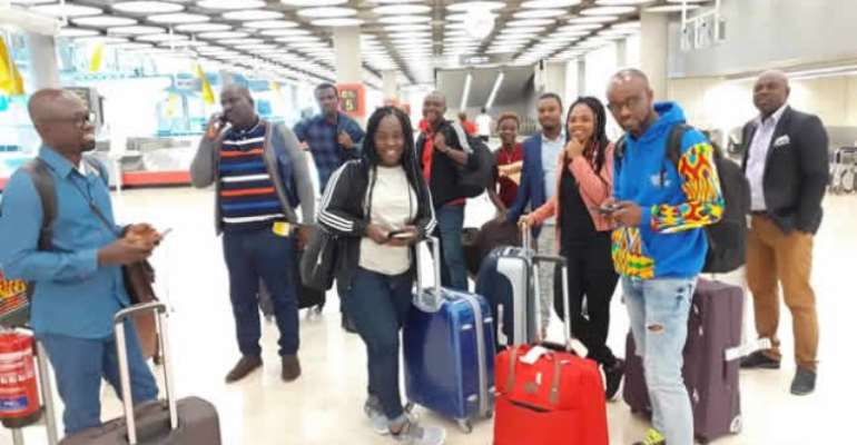 Ghanaian delegation in Spain for Vis-a-Vis Festival