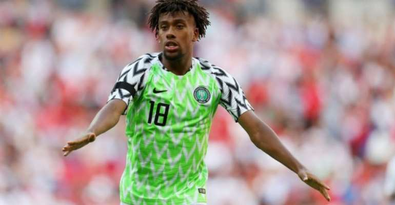 AFCON 2019: Alex Iwobi Eyes Nigeria Victory Over Tunisia  Ahead of the third place match of the 2019
