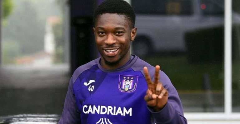 Ghanaian Youngster Francis Amuzu Signs New Deal At Anderlecht