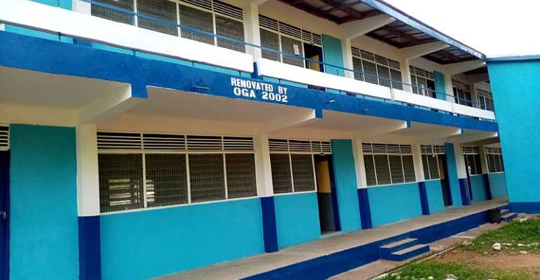 Tamale: OGA 2002 Year Group Renovates Classrooms For Ghanasco