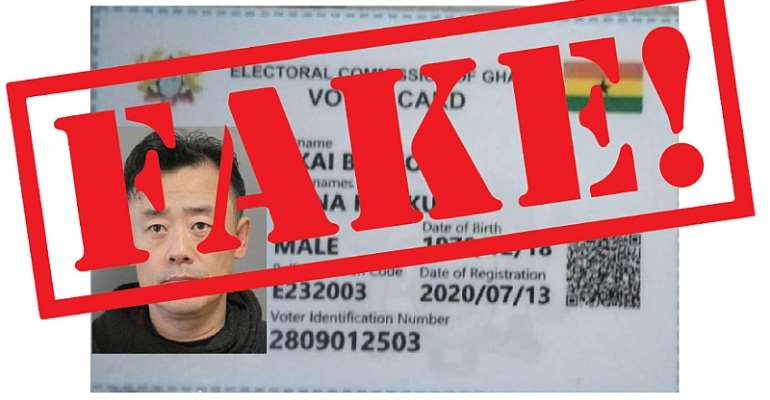 We Didn't Issue Voter ID Card To Asian Man — EC