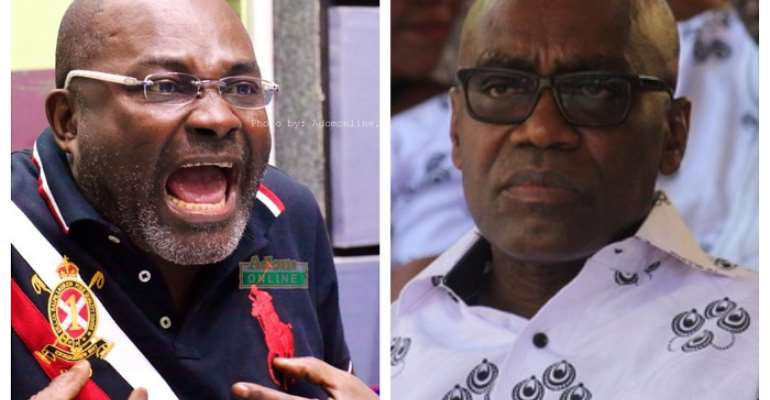 Kwasi Twum claims he didn't tell me in my office that shameless staff of Joy FM are threatening to sabotage gov't because we no longer take care of them? — Ken Agyapong