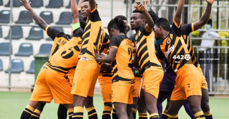 GHPL: Ashgold thrash relegated Inter Allies FC 7-0 in final game of the season