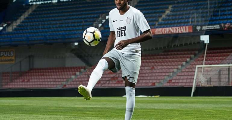 OFFICIAL: AC Sparta Praha Announce Signing Of Ghanaian Forward Benjamin Tetteh