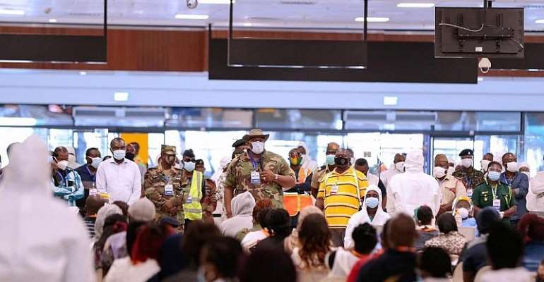 COVID-19: More Ghanaians To Be Evacuated From London