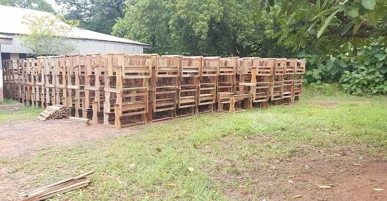 Savannah Regional Minister Donates Dual Desks To East Gonja Education Directorate