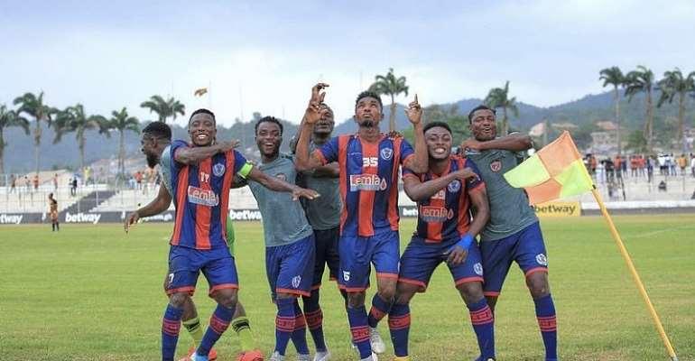 GHPL: Legon Cities escape relegation after 3-2 comeback win against Eleven Wonders