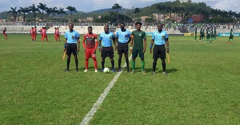 GHPL: Asante Kotoko finish second on league table despite narrow defeat to Elmina Sharks