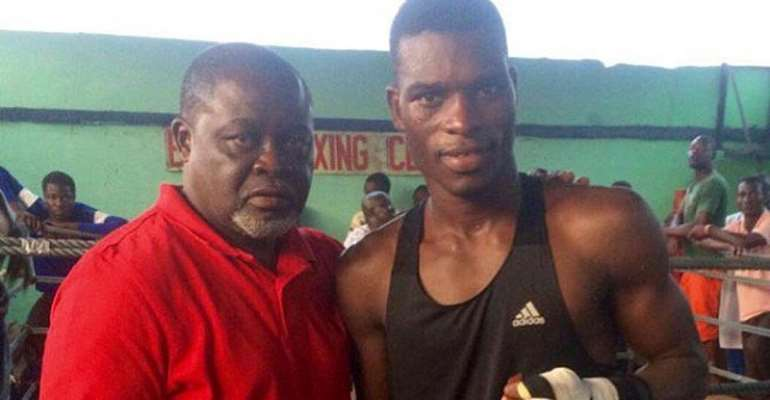 Azumah Nelson: Commey Can Be Great If He Stays Focused