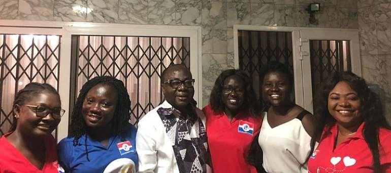 Freddie Blay Hosts NPP Loyal Ladies