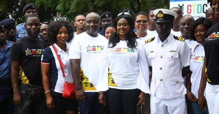 Tourism Minister Unveils Ghana-Centre Of World Monument