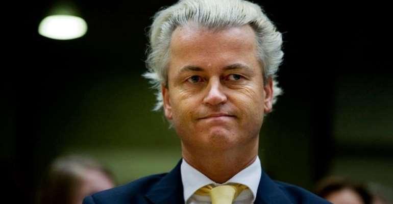 Geert Wilders, the famous Dutch anti-Islam politician