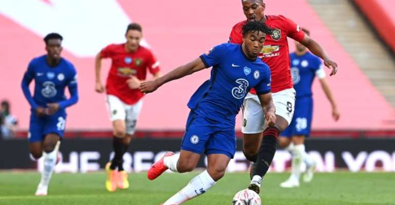 Hudson-Odoi Plays Cameo Role As Chelsea Knock Manchester Utd Out Of FA Cup