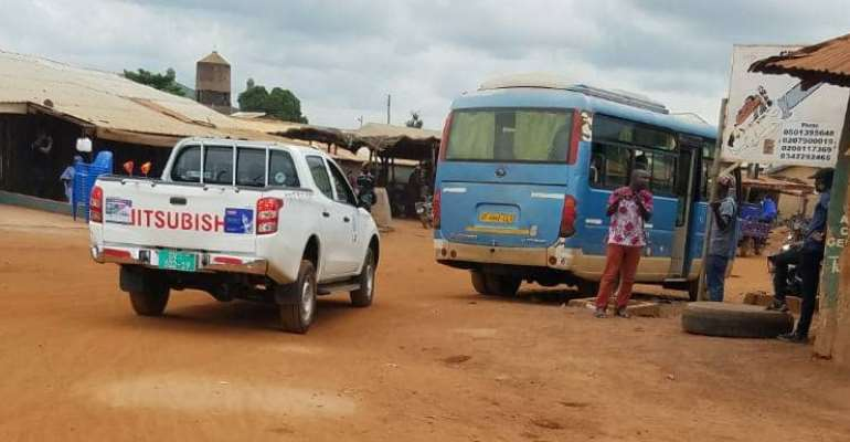 NDC Salaga South Exposes Regional Minister Bussing Strangers  To Register