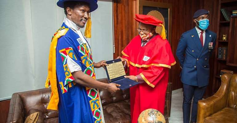 Freedom Jacob Caeser Receives Two Prestigious African Honors