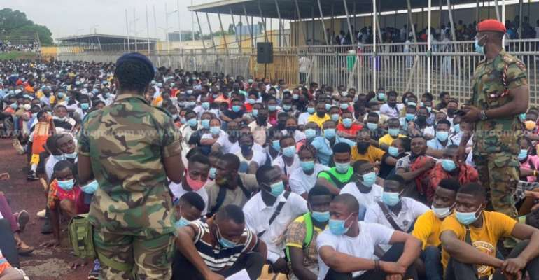 Army recruitment: Thousands storm El-Wak Stadium for medical screening