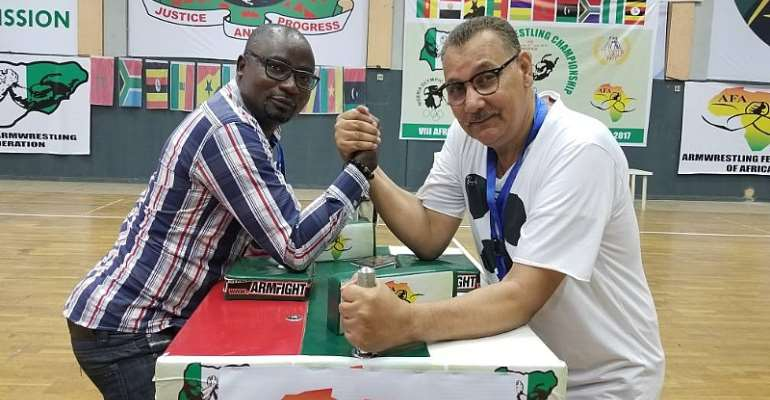 Accra To Host African Armwrestling Congress 2018