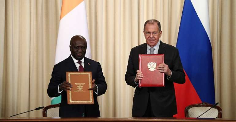 Russia-Côte d'Ivoire Agree to Elevate Bilateral Relations