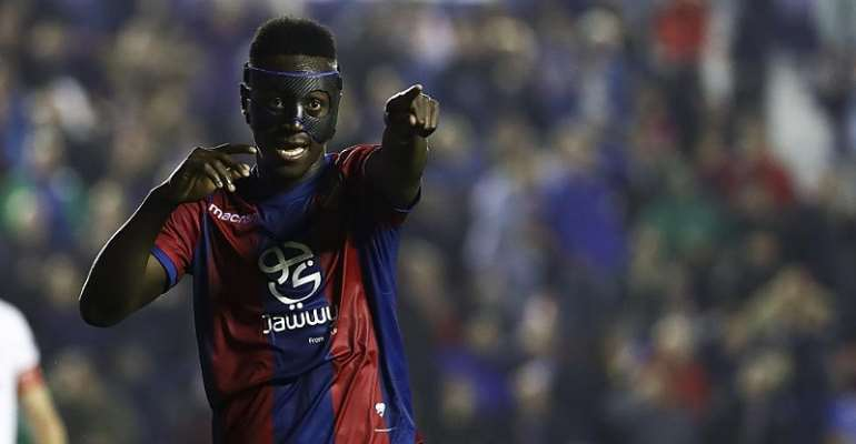 Emmanuel Boateng Scores As Levante Lose To AFC Bournemouth In Pre-Season