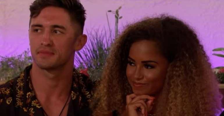 Love Island fans celebrate Amber's recoupling choice