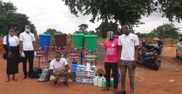 Covid-19: Windows Of Hope Supports Kumasi Cemetery