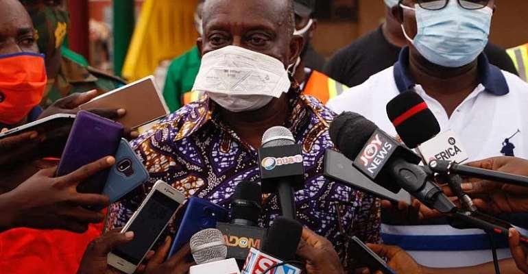 Hon. Simon Osei Mensah, Ashanti Regional Minister