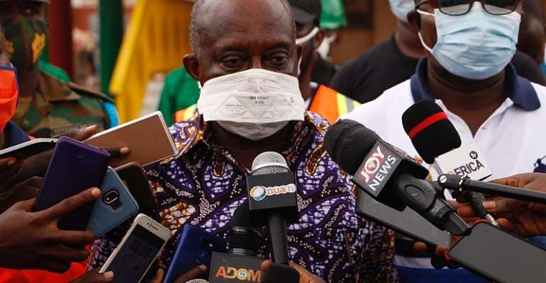 Markets In Ashanti Region Benefit From Gov't Disinfection Exercise