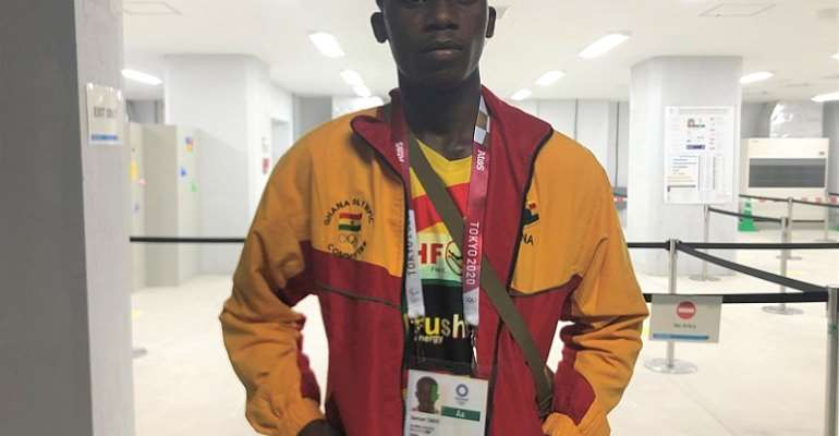 """""""I am the best in the world at 57kg"""", says Samuel Takyi"""