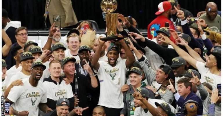 The Milwaukee Bucks have won the NBA title twice in their history
