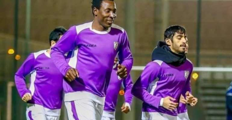 Former Hearts striker Kofi Kordzi leaves Qatari side Muaither SC - Reports
