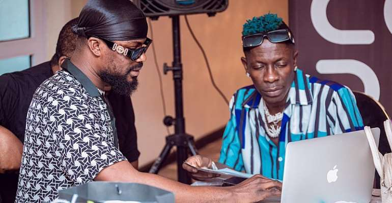 Shatta Wale & Code Management Group Amplify African Producers Through Youngtrepreneurs Initiative