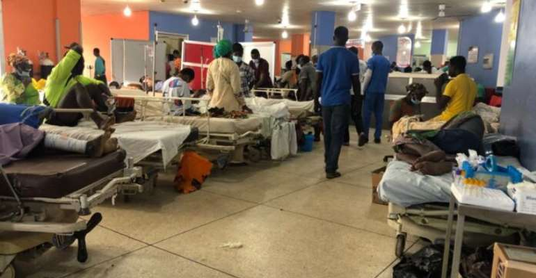 A/R: KATH runs out of bed for patients, admission ward filled to capacity