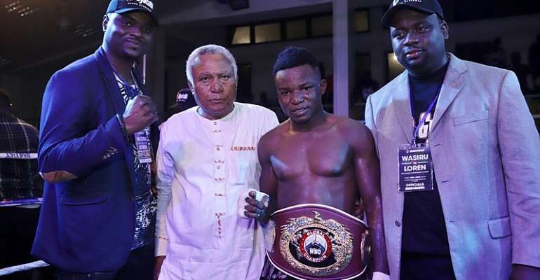 E & J Promotions Congratulate New WBO Global Champion Wasiru Mo 'Gyata Bi'