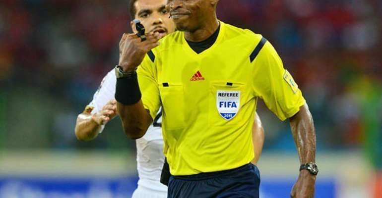 AFCON 2019: Gabonese Referee Eric Oyogo Castanets Appointed To Officiate Ghana-Guinea Bissau Clash