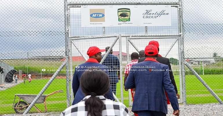 MTN Completes Second Training Pitch For Kotoko At Adako Jachie