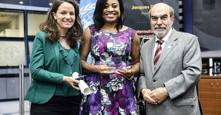 IITA Youth Agripreneur program wins the 2019 International innovation award  for sustainable food and agriculture