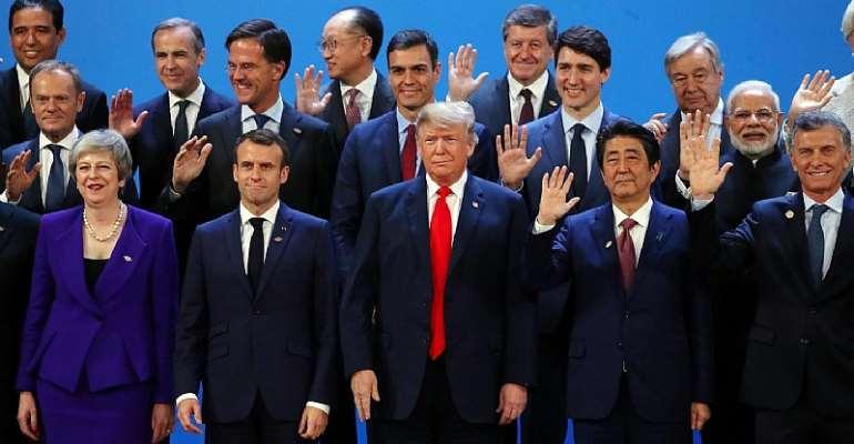 G20 Gyrations: Donald, Ivanka, and Hollow Diplomacy
