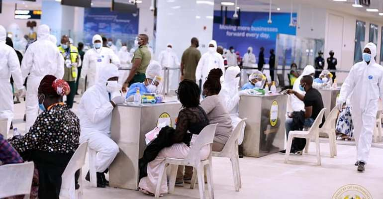Returnees From UK Lament High Cost Of Quarantine; Checked Out Without COVID-19 Test Results