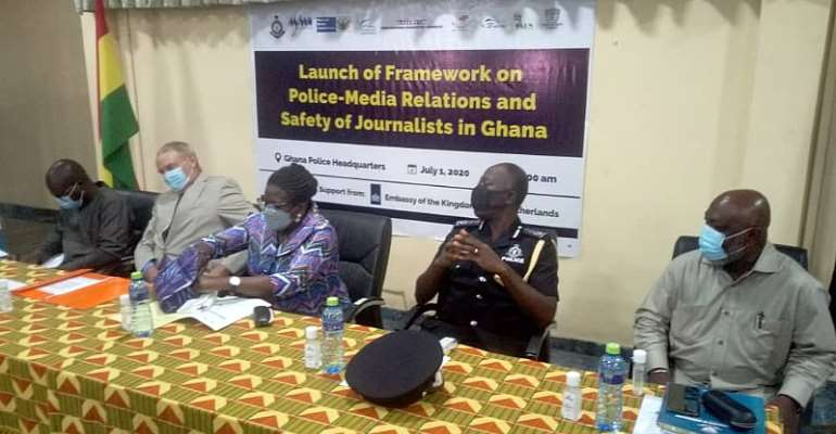 GPS, MFWA Launch Police-Media Relations Framework On Safety Of Journalists