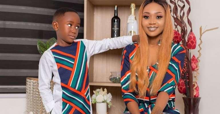 Akuapem Poloo To Lose Custody Of Her Son?
