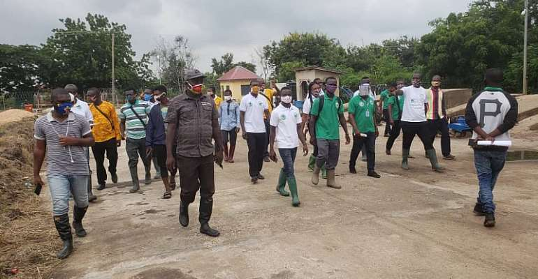 Atiwa East: Department Of Agriculture Embarks On Study Tour