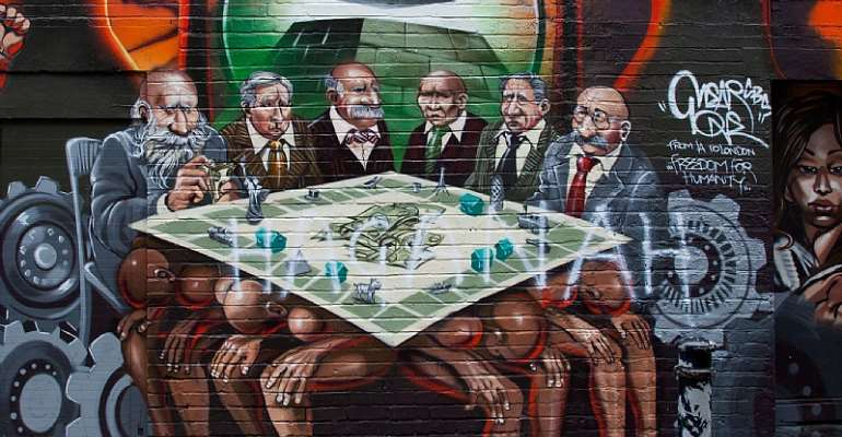 The Reason Why This Mural Was Offensive, And It's Not The Black People