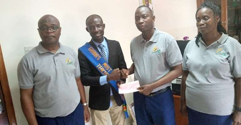 Advent Press supports 2020 Best Teacher's ICT project with over Gh¢22,000