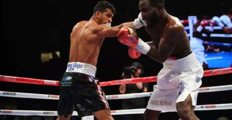 Ghana's Rafael Mensah Misses Out On World Title Glory To Machado