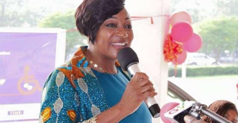 Otiko Djaba, Gender, Children and Social Protection Minister