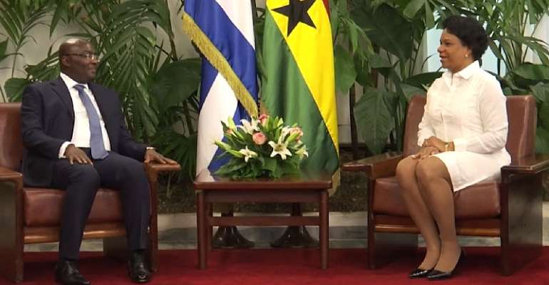 Vice President Bawumia's Official Trip to Cuba