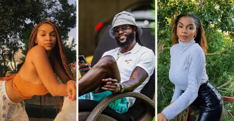Adebayor Shows Off New Woman Who Is Also Namibian After Unfollowing Dillish